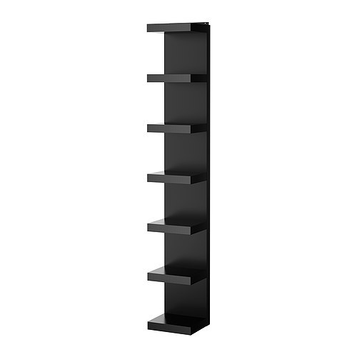 [IKEA] LACK Wall shelf unit / 벽선반 세트 (블랙) 901.713.61
