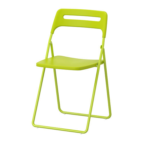 [IKEA] NISSE folding chair/ 접이식 의자(그린)302.217.12