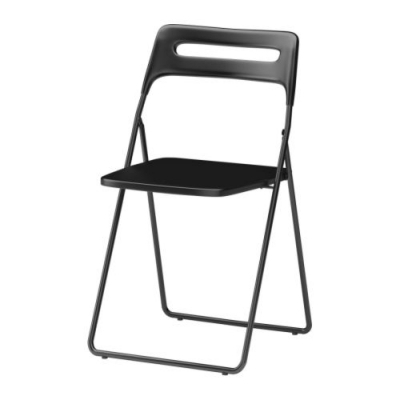 [IKEA] NISSE folding chair/ 접이식 의자 (블랙)301.622.08
