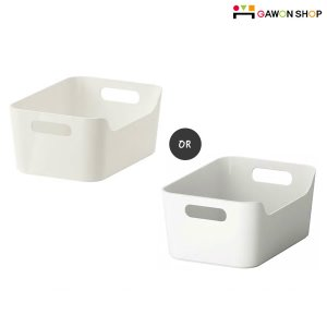 [IKEA] RATIONELL VARIERA 수납함 (24*17소/색상랜덤발송) 301.772.57/703.351.08