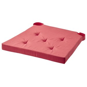 [IKEA] JUSTINA Chair pad / 의자 패드 (레드) 204.728.24