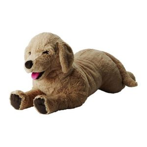 [IKEA] GOSIG GOLDEN Soft toy 강아지 인형 (70cm) 301.693.42