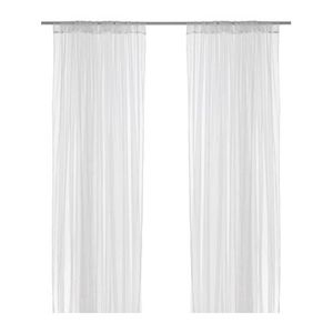 [IKEA] LILL pair of curtains 망사커튼 701.719.27