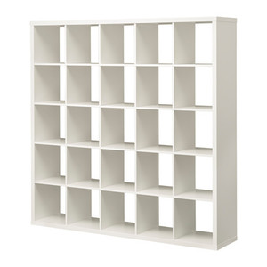 [IKEA] KALLAX Shelving unit/책장(182x182, 화이트) 103.535.86