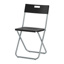 [IKEA] GUNDE Folding chair / 접이식 의자 (블랙) 802.177.98