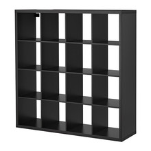 [IKEA] KALLAX Shelving unit, 책장 (블랙브라운 147x147) 103.518.89