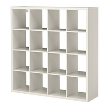 [IKEA] KALLAX Shelving unit, 책장 (화이트, 147x147) 603.518.82